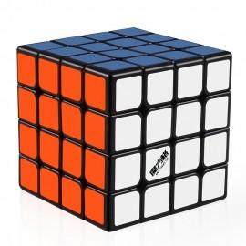 Кубче за скоростно нареждане QiYi MoFangGe WuQue 4x4x4 62мм - Черно