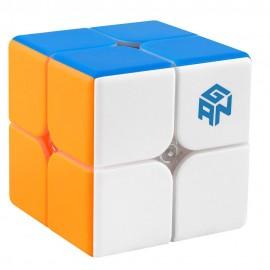 Куб за скоростно нареждане Gancube Gan249 V2 2x2x2 49мм Magnetic - Stickerless