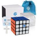 Куб за скоростно нареждане Gancube Gan460 M 4x4x4 60мм Magnetic - Черен