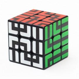 Магически пъзел Z-Cube Maze 3x3x3 - Черен