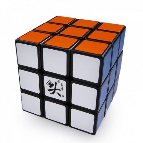 Кубче за скоростно нареждане DaYan GuHong 3x3x3 - черно