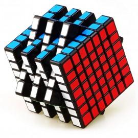 Кубче за скоростно нареждане QiYi QiXing 7x7x7 70мм - Черно