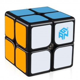 Кубче за скоростно нареждане Gancube Gan249 V2 Magnetic 49мм - Черно