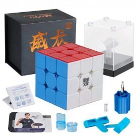 Кубче за скоростно нареждане MoYu WeiLong GTS3M V3 Magnetic 55.5мм - Stickerless