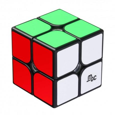 Кубче за скоростно нареждане YongJun MGC 2x2x2 50мм Magnetic - Черно