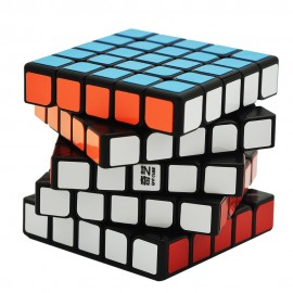 Куб за скоростно нареждане QiYi QiZheng 5x5x5 62мм - Черен