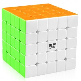 Кубче за скоростно нареждане QiYi QiZheng S 5x5x5 62мм - Stickerless