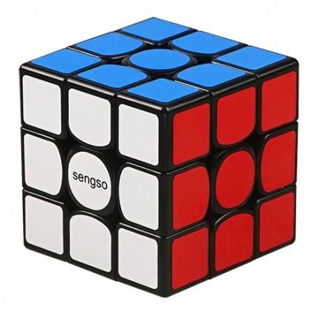 Куб за скоростно нареждане ShengShou FangYuan V2 Magnetic 3x3x3 56мм - Черен