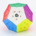 Магически пъзел за скоростно нареждане QiYi X-Man Galaxy Megaminx V2 - Stickerless (Concave)