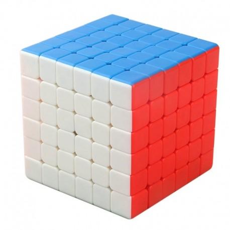 Куб за скоростно нареждане YongJun RuiShi 6x6x6 68мм - Stickerless