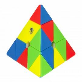 Магически пъзел за скоростно нареждане YuXin Little Magic Pyraminx 3x3x3 - Stickerless