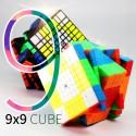Куб за скоростно нареждане MoFang JiaoShi 9x9x9 MF9 74мм - Stickerless