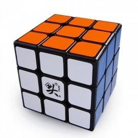 Мини-куб за скоростно нареждане DaYan V ZhanChi 3x3x3 42мм - Черен