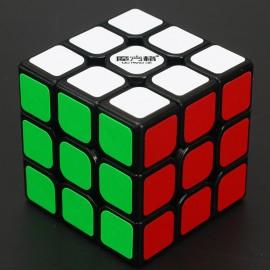 Куб за скоростно нареждане QiYi MoFangGe Thunderclap V1 3x3x3 56.5мм - Черен