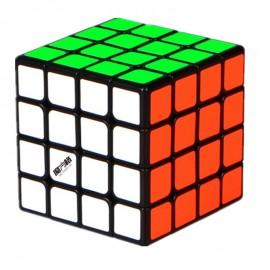 Куб за скоростно нареждане QiYi MoFangGe Thunderclap Mini 4x4x4 60мм - Черен