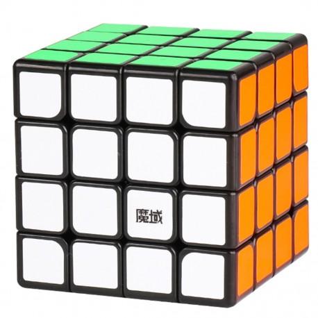 Куб за скоростно нареждане MoYu AoSu GTS2 4x4x4 61мм - Черен