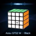 Куб за скоростно нареждане MoYu AoSu GTS2 M 4x4x4 61мм Magnetic - Черен