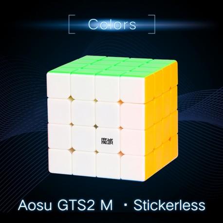 Куб за скоростно нареждане MoYu AoSu GTS2 M 4x4x4 61мм Magnetic - Stickerless