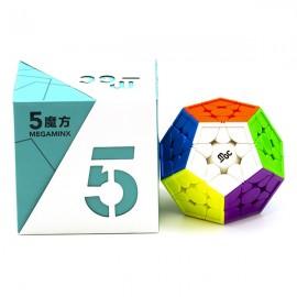 Магически пъзел за скоростно нареждане YongJun MGC Megaminx Magnetic - Stickerless