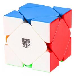 Магически пъзел за скоростно нареждане MoYu AoYan M Skewb Magnetic - Stickerless