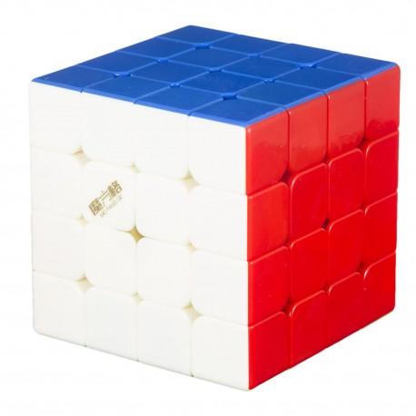 Куб за скоростно нареждане QiYi MoFangGe WuQue Mini M 4x4x4 60мм Magnetic - Stickerless