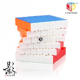 Куб за скоростно нареждане QiYi X-Man Design Shadow 6x6x6 65мм - Stickerless