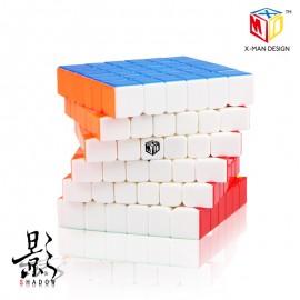 Куб за скоростно нареждане QiYi X-Man Shadow 6x6x6 65мм - Stickerless