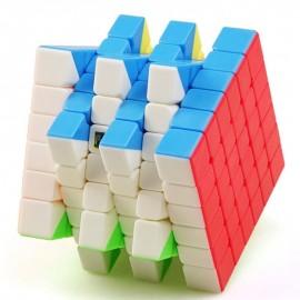 Куб за скоростно нареждане MoFang JiaoShi 6x6x6 MF6 68мм - Stickerless
