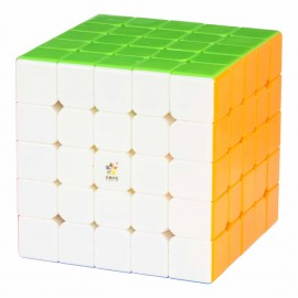 Куб за скоростно нареждане YuXin Little Magic M 5x5x5 62мм Magnetic - Stickerless