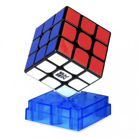 Куб за скоростно нареждане MoYu WeiLong WR M 55.5мм Magnetic - Черен