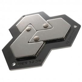 Логически пъзел Huzzle Cast Hexagon GR4 - метален