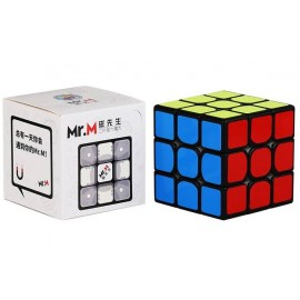 Магически куб ShengShou Mr. M Magnetic 3x3x3 56мм - Черен