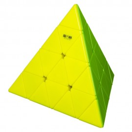 Магически пъзел QiYi Master Pyraminx 4x4x4 - Stickerless