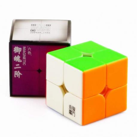 Куб за скоростно нареждане YongJun YuPo 2x2x2 50мм Magnetic - Stickerless
