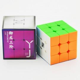 Куб за скоростно нареждане YongJun YuLong V2 3x3x3 56мм Magnetic - Stickerless