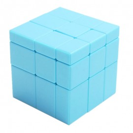 Магически пъзел ShengShou Mirror Blocks 3x3x3 Blue Stickerless