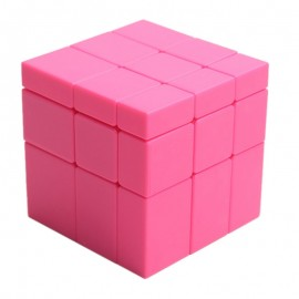 Магически пъзел ShengShou Mirror Blocks 3x3x3 Pink Stickerless