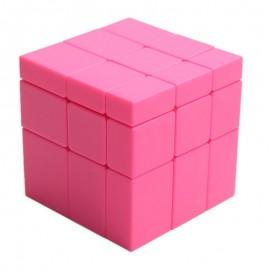 Магически пъзел ShengShou Mirror Blocks 3x3x3 Pink Stickerless