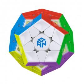 Магически пъзел за скоростно нареждане Gancube Megaminx Magnetic - Stickerless