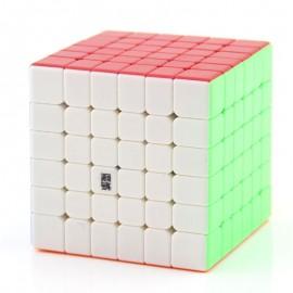 Куб за скоростно нареждане MoYu AoShi GTS M 6x6x6 65мм Magnetic - Stickerless