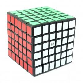 Магически куб QiYi QiFan 6x6x6 68мм - Черен