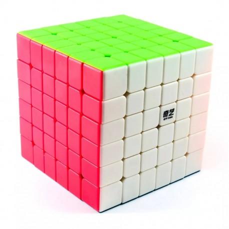 Магически куб QiYi QiFan S 6x6x6 68мм - Stickerless