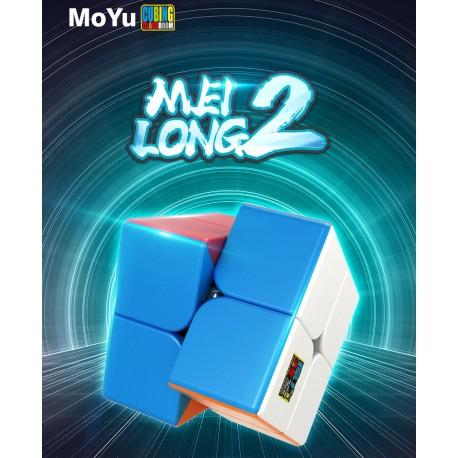 Магически куб MoFang JiaoShi MeiLong 2x2x2 50мм - Stickerless