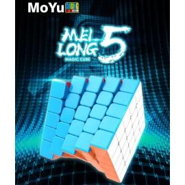 Куб за скоростно нареждане MoFang JiaoShi MeiLong 5x5x5 62мм - Stickerless