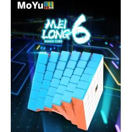 Куб за скоростно нареждане MoFang JiaoShi MeiLong 6x6x6 65мм - Stickerless