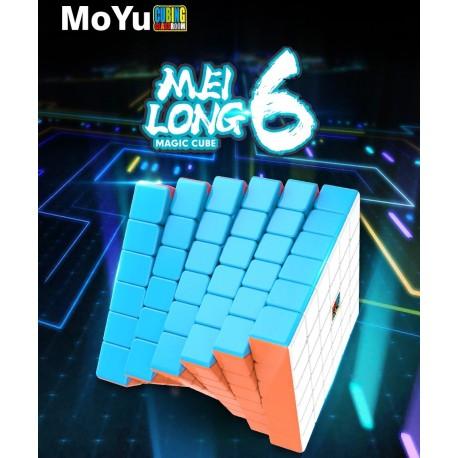 Магически куб MoFang JiaoShi MeiLong 6x6x6 65мм - Stickerless