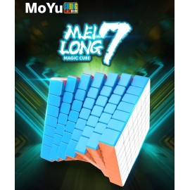 Магически куб MoFang JiaoShi MeiLong 7x7x7 66мм - Stickerless