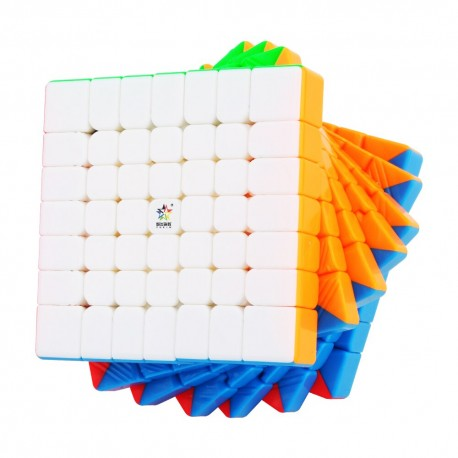 Куб за скоростно нареждане YuXin Little Magic 7x7x7 67.5мм - Stickerless