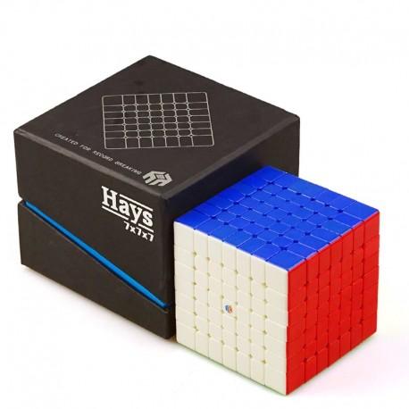 Куб за скоростно нареждане YuXin Hays 7x7x7 67.5мм - Stickerless