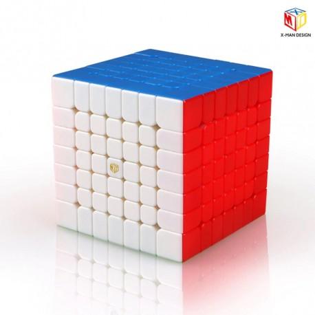 Куб за скоростно нареждане QiYi X-Man Spark M 7x7x7 67мм Magnetic - Stickerless